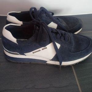 Michael Kors suede sneakers